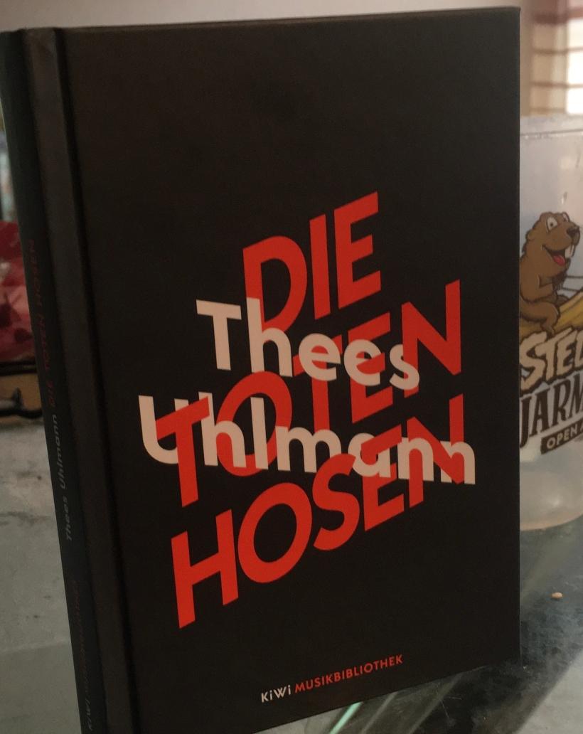 """Buchcover T. Uhlmann: """"Die Toten Hosen"""""""